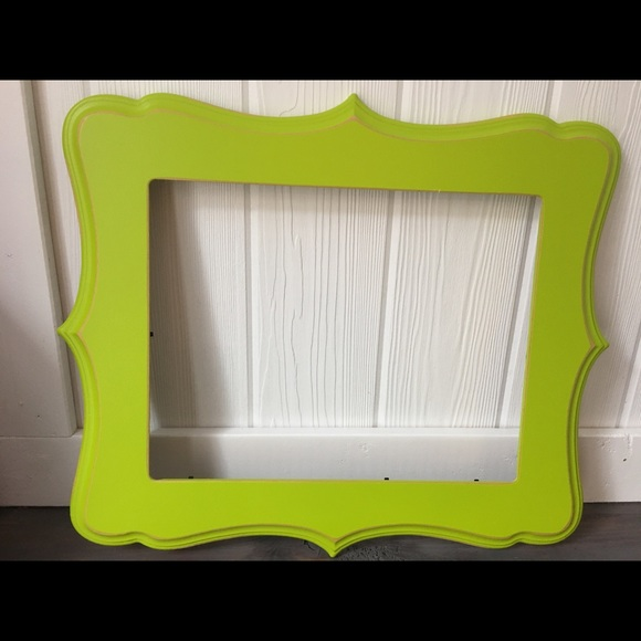 Other | Frame20x17 Lime Green Frame Fits A 14x11 Picture | Poshmark